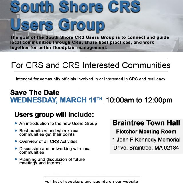 South Shore CRS Users Group
