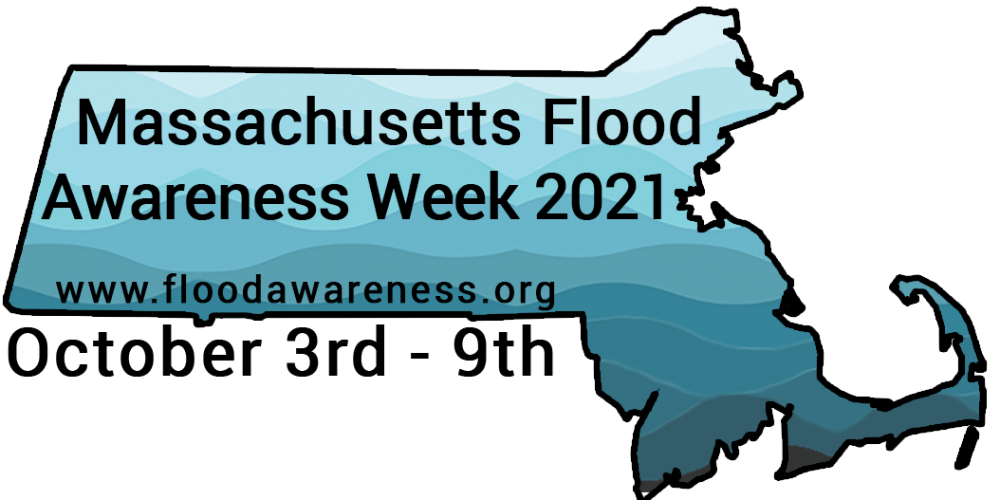 PRESS RELEASE: OCTOBER 3rd TO 9th TO BE PROCLAIMED FLOOD AWARENESS WEEK IN MASSACHUSETTS